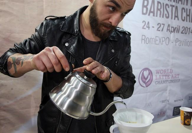 Cosmin Mihailov, Mr. Barista